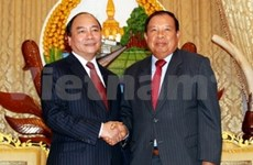Government Office Chairman visits Laos