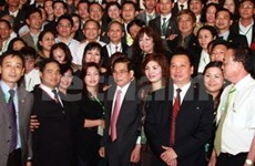 President hails business community's contributions