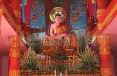 Biggest central chamber of Khmer pagoda inaugurated