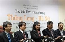 VNA launches Thang Long-Hanoi website