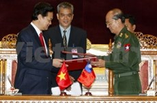 PM seeks to lift cooperative ties with Myanmar