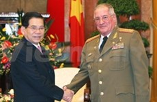 Vietnam stands side by side with Cuba: President