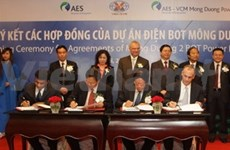 Contracts signed for Mong Duong 2 thermal power plant