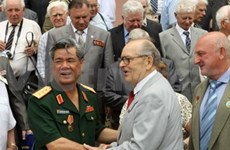 Former Soviet Union war veterans visit Vietnam