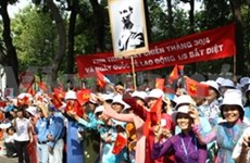 Vietnam's Great Victory marked in HCM City