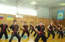 Int'l Nhat Nam martial art congress held in Russia