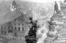 Foreign embassies celebrate victory over fascism