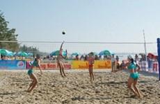 National Beach Volleyball tourney underway