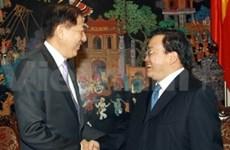 Deputy PM Hai receives Singaporean counterpart