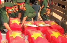 More remains of martyrs brought home from Laos
