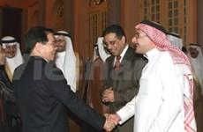 President stresses trade ties with Saudi Arabia