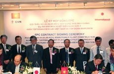 EVN signs EPC contract with Japanese firm