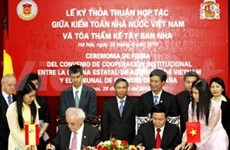 Vietnam, Spain launch joint auditing initiative