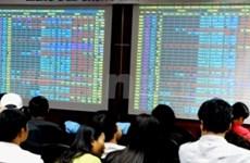 Domestic shares track global slump