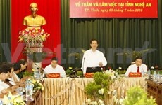 PM urges Nghe An to capitalise on its advantages