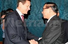 Vietnamese Party chief meets with Russian leaders