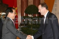 State President receives New Zealand Prime Minister