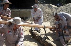 Central province gets supports for mine clearance, gender equality