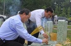 Grand ceremony prays for fallen war combatants