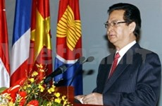 ASEAN foreign ministers' meeting opens in Hanoi