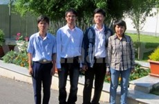 Vietnamese students shine at int'l math competition