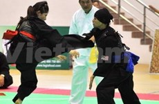 Vietnam leads regional Pencak Silat tournament