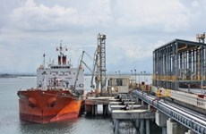 First crude imports feed VN's first oil refinery