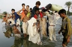 Vietnam joins rescue activities for Pakistani flood victims