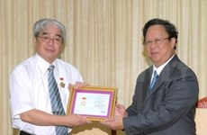 Japanese diplomat honoured with peace award