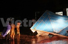 One death, 10 missing in Mindulle storm