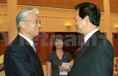 PM receives Japanese economic minister