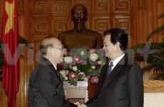 PM welcomes Cambodian Justice Minister