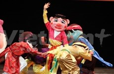 Int'l puppetry festival opens in Hanoi