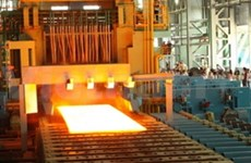 Chinese-invested steel plant inaugurated in Thai Binh