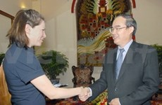 Deputy PM receives Finnish Labour Minister