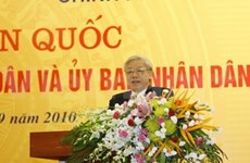 Conference on people's councils and committees ends