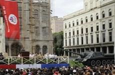 Fatherland front delegation visits Cuba