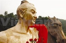 Saint Giong statue recognised during millennium