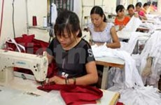 Garment exports on target