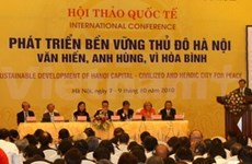 Hanoi's sustainable development in limelight
