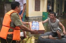Over 19 bln VND raised for flood victims