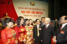 Hanoi holds Party congress