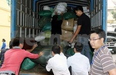 More relief aid to central flood victims