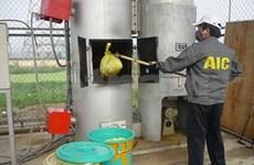 Hanoi acts on hospital waste treatment