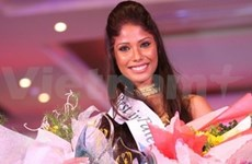 Indian beauty crowned Miss Earth Talent 2010