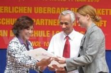 Germany assists German language teaching in Vietnam