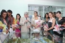 Miss Earth beauties share environmental ideas