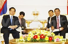 Cambodian leaders spotlight friendship with Vietnam