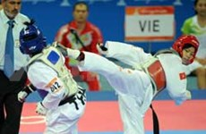 Olympian strikes silver in women's Taekwondo