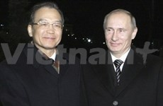 Chinese Prime Minister visits Russia